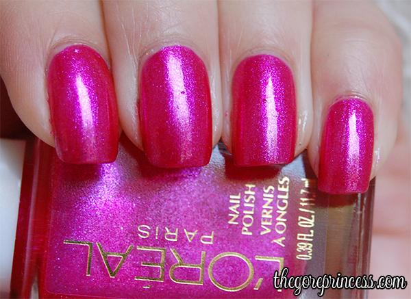 L'Oreal Pink Shells