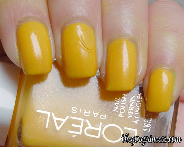 L'Oreal Yellow Seahorse