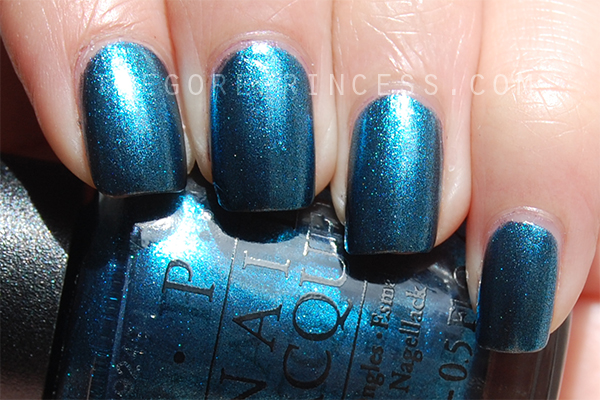 OPI I'm an Aqua-Holic