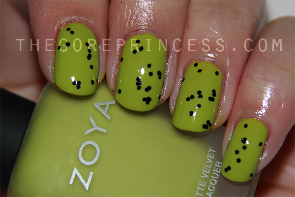 Zoya Mitzi and Wet 'n' Wild Tangled in My Web