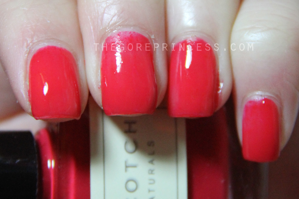 how to get nail polish off polyester longe