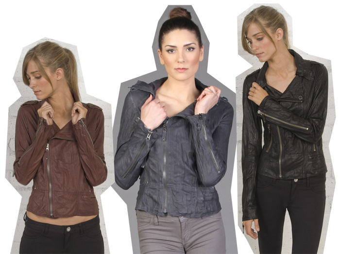 Ever Desa leather jacket