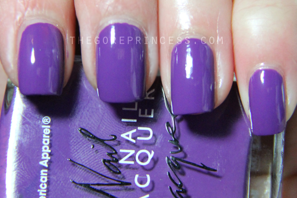 American Apparel African Violet