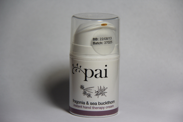 Pai Fragonia &amp; Sea Buckthorn Instant Hand Therapy Cream