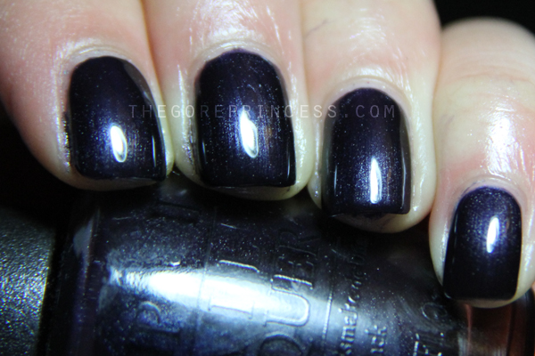 Opi Light My Sapphire Amp Space Nail Fail Thegoreprincess Com