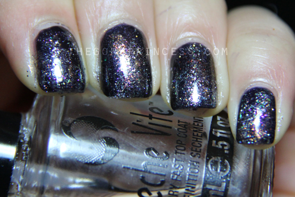 Revlon Gold Coast L'Oreal Silver Sparkle SpaRitual Illumination Space Nails