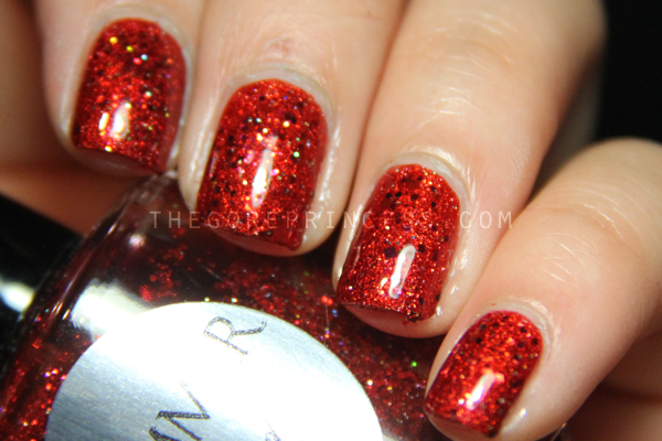 Taylor Swift RED Tour Nails