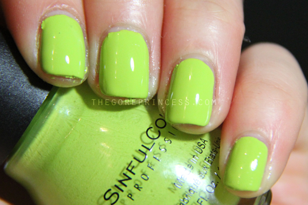 SinfulColors Spring Fever 2015 Swatches Innocent