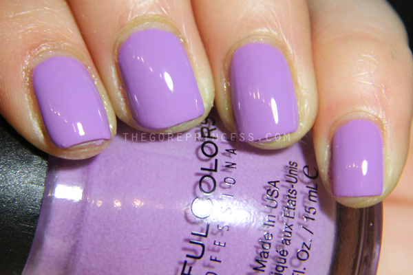SinfulColors Spring Fever 2015 Swatches Tempest