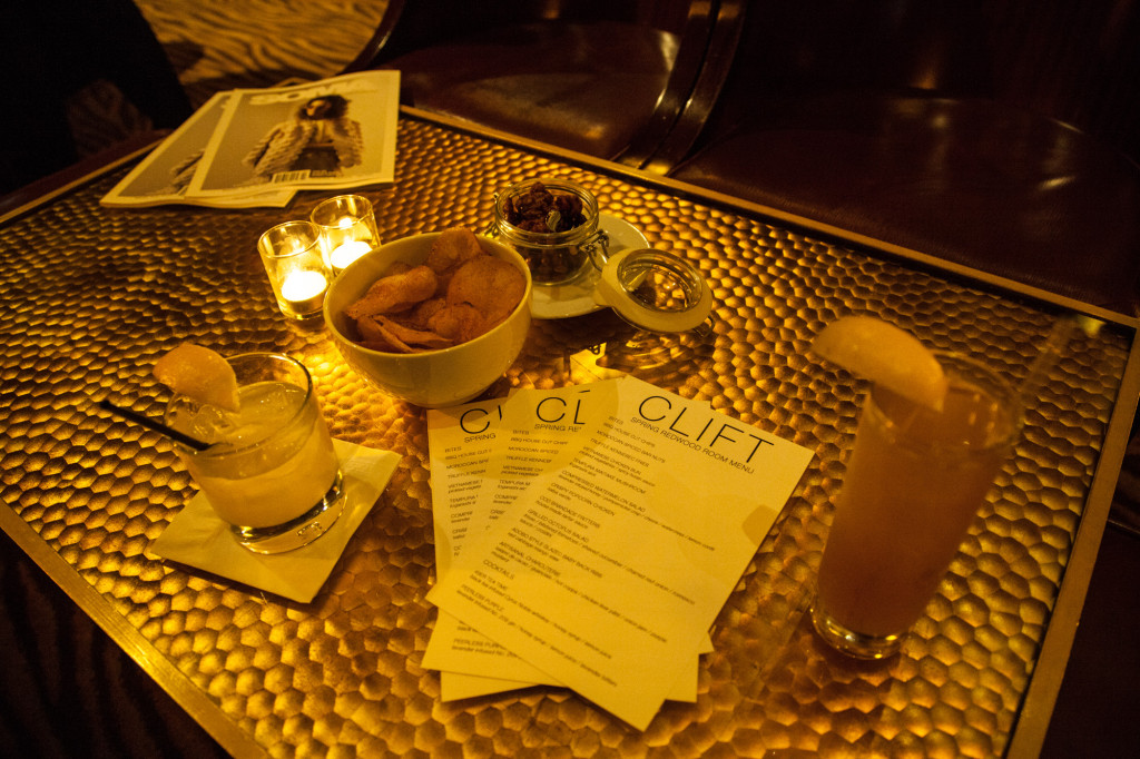 The Clift Hotel Redwood Room